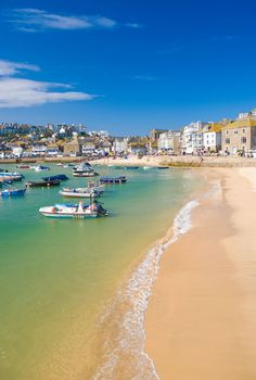 View top-quality stock photos of St Ives Cornwall England Uk. Find premium, high-resolution stock photography at Getty Images. Cornwall England, St Ives Cornwall, Yorkshire England, Yorkshire Dales, St Ives England, Places To Travel, Places To See, Holidays In Cornwall, Holidays In England