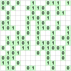 Number Logic Puzzles: 22777 - Binary size 7