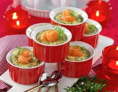 Laxpudding med smak av pepparrot