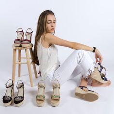 Nuestras #sandalias con #cuña de#yute para primavera/verano 2018 muy muy pronto estarán a la venta #thegcollectionspain #espadrilles #newcollection #muypronto #comingsoon #shoes #zapatos #shoeslovers #shoes