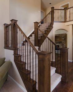 Home Decorating Ideas: Wooden Handrailing Idea