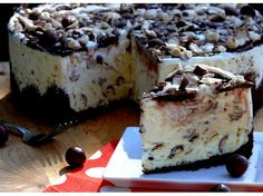 Whoppers-Malted Milk Ice Cream Cake NoblePig.com