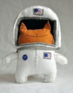 Astrocat has just graduated space school and is ready for action.