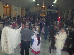 Celebración Eucarística de la presentación del Señor 8:00 Pm Capilla Virgen de Guadalupe.