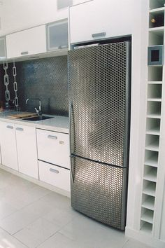 Academy Tiles | Project: 2126   Description: Kitchen.     Tiles used:Glazed Penny Rounds 55616