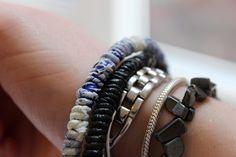 Recycled Plastic Bag Bracelet (DIY)