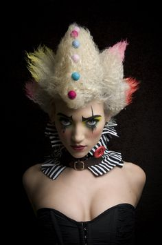 World of makeup. — Illamasqua inspired Alter-ego - Clown by...