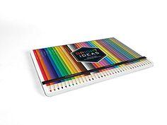 Amazon Bright Ideas Deluxe Colored Pencil Set 9781452159768 Chronicle Books
