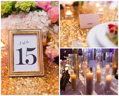Table Numbers | Gold
