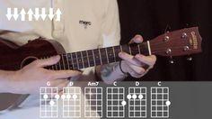 Knockin' on heavens door by Bob Dylan (ukulele tutorial) - Урок игры на ...