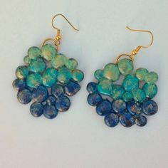 This is a fun way to use items you probably already have on hand for inexpensive, unique and pretty earrings! Would you believe the main m...