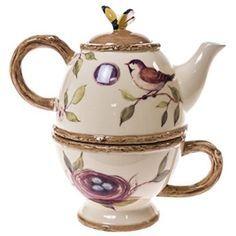 Earthenware Tea for One