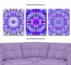 Items similar to Purple Wall Art, Lavender Wall Decor, Lilac Purple Floral Art Prints, Purple Bedroom Living Room Decor, Rustic Purple Art Posters Set of 3 on Etsy Purple Wall Decor, Purple Walls, Country Wall Art, Rustic Wall Art, Lavender Walls, Orange Wall Art, Bathroom Wall Art, Modern Artwork, Paint Set