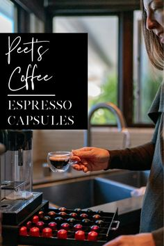 Peet's Coffee now has espresso capsules that work in Nespresso Original machines to help you stay fueled over the holiday season. Coffee Pods, Coffee Beans, Espresso Coffee, Best Coffee, Coffee Talk, Coffee Shop, Coffee Franchise, Cappuccino Machine, Italian Coffee