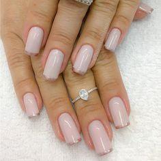 """1,434 curtidas, 17 comentários - Paula Camilo (@paulacamilonails) no Instagram: """"Francesa Collor !!!! ... #paulacamilonails #fibradevidro #nailart #lovenails #nails #beauty…"""""""