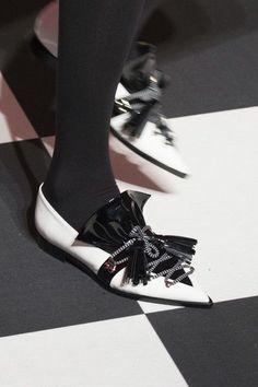 Msgm at Milan Fashion Week Fall 2017 - Details Runway Photos