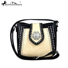 MW263-8287 Montana West Concho Collection Messenger Handbag - New Arrival