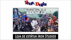 Loja de estátua Iron Studios - Pens and Dolls