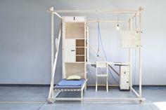 In deze kubus kun je leven op 2,5m³ Roomed | roomed.nl