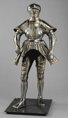 Knaben-Faltenrockharnisch, late gothic plate armour from the History museum in Vienna.