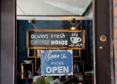 Düsseldorfer Café Covent Garden:  Ein kleines Stück London in der Stadt