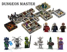 Lego make this monster-ful Dungeon Master set real     - CNET Welcome to the dungeon.                                                       Ymarilego                                                    Youre a Lego minifig warrior. With your shield and sword at the ready you step into a dark stone room and come face to face with a glowing spider and goblin. What will you do brave adventurer?    The Dungeon Master Lego kit concept from fan and builder Ymarilego aims to unite the realm of…