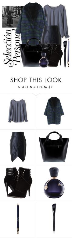 """""""City in winter _ Beautiful Halo"""" by by-jwp ❤ liked on Polyvore featuring Massimo Castelli, C Label, Lacoste, Clarins and beautifulhalo"""