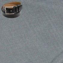 Raymond Men Trouser Fabric Grey Free Belt