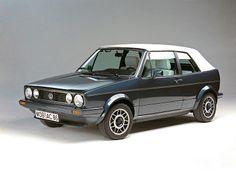 Volkswagen Golf Cabrio (1979 – 1988). mk1