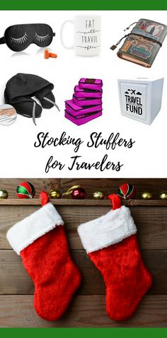 Are you looking for some cool gift ideas for your friends & family that love to travel? Look no further! 20 (plus a bonus!) Stocking Stuffers For Travelers.