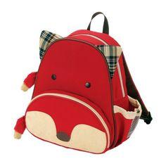 Skip Hop Zoo Pack Little Kids & Toddler Fox Backpack