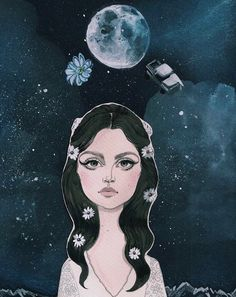 Lana Del Rey Is Channeling the Moon to Dispel Negative Energy << da funk?!? #LDR #LOVE_LDR