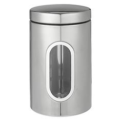John Lewis Stainless Steel Window Canister, Small Check more at http://www.villeroyboch.co.uk/product/john-lewis-stainless-steel-window-canister-small/