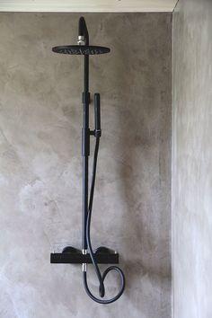 Bathroom Inspiration, Bathroom Ideas, Shower Ideas, Room Interior, Interior Design, Scandi Home, Black Shower, Spa Rooms, Space Architecture