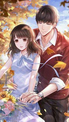 Love and Producer Anime Cupples, Anime Kiss, Cute Couple Art, Anime Love Couple, Romantic Anime Couples, Cute Anime Couples, Anime Couples Drawings, Anime Couples Manga, Desenhos Love