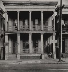 "thephotoregistry:  "" New Orleans boarding house, 1935  Walker Evans  """