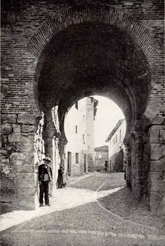 An Arab Gateway in Burgos, Spain, 1901.