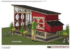 M600 _ Chicken Coop Plans Construction Chicken Coop Design - How To Build A Chicken Coop M600 _ Chicken Coop Plans Constructio...
