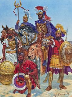 """Hannibal Barca before Zama, 202 BC"", Giuseppe Rava"