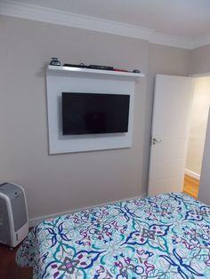 Dormitório do casal - apartamento Danilo e Daiane  Projeto: Sergio R. Pereira Designer de Interiores Fone: (11) 95475-7897 projeto@sergiorpereira.com.br