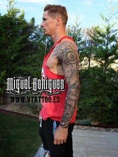 Tatuaje al furbolista Fernando Torres - Miguel Bohigues Vtattoo