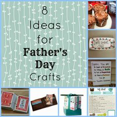 8 Ideas for Father's Day Crafts from Whimsicle