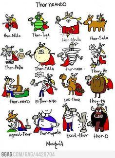 Spanish Thors! haha