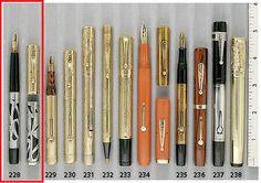 Extraordinary Pens - Waterman Art Nouveau