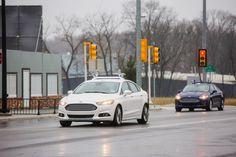 #Ford prueba #vehículosautónomos en un entorno urbano simulado