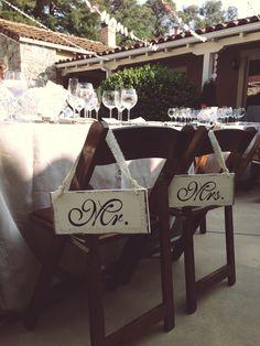 Wedding Signs (Mr & Mrs)