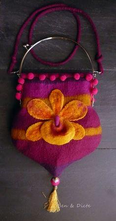 BEN & DICTE felted purse