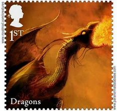 Creature Postage Stamps