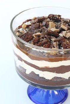 Glorious Treats: {Recipe} Caramel Brownie Trifle