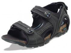 0a64017e3ffa NEW for Spring 2013! Largo Adjustable Quarter Strap Men s Sandal in black.  Lynco®